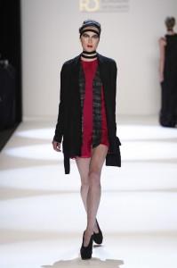 Model bei der Show von Irina Schrotter