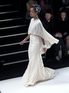 Sara Nuru bei Stephan Pelger Show auf der Fashion Week in Berlin - Januar 2012