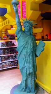 Lego Statue of Liberty - FAO Schwarz in New York City