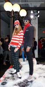 Models bei Gant by Michael Bastian in New York City