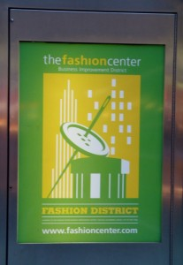 Fashion District in New York City