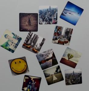 Instagram Bilder als Magnete von getpicpack