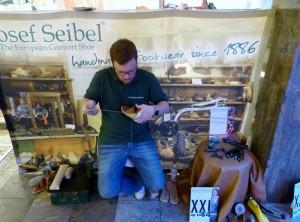 Schuhgeschäft Schöll und die Firma Josef Seibel