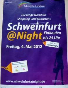 Schweinfurt @ Night (Shopping- und Kulturnacht)