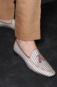 Ermenegildo Zegna Spring/Sommer 2013 - Backstage - shoes