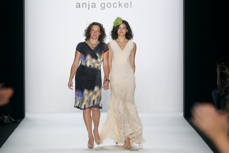 Anja at Anja Gockel Spring/Summer 2013 - Mercedes Benz Fashion Week