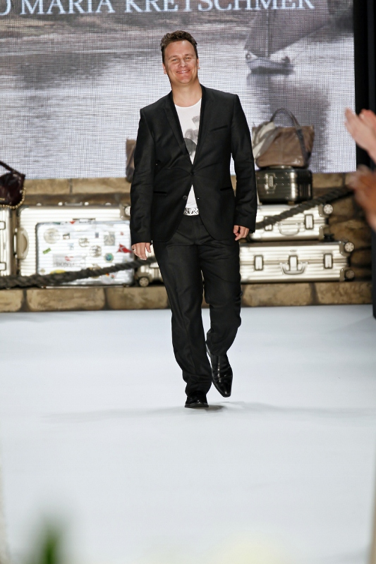 Guido at Guido Maria Kretschmer Spring/Summer 2013 - Mercedes Benz Fashion Week
