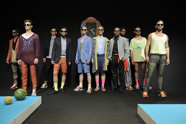 Models at Andy Wolf Eyewear Spring/Summer 2013 - Mercedes Benz Fashion Week