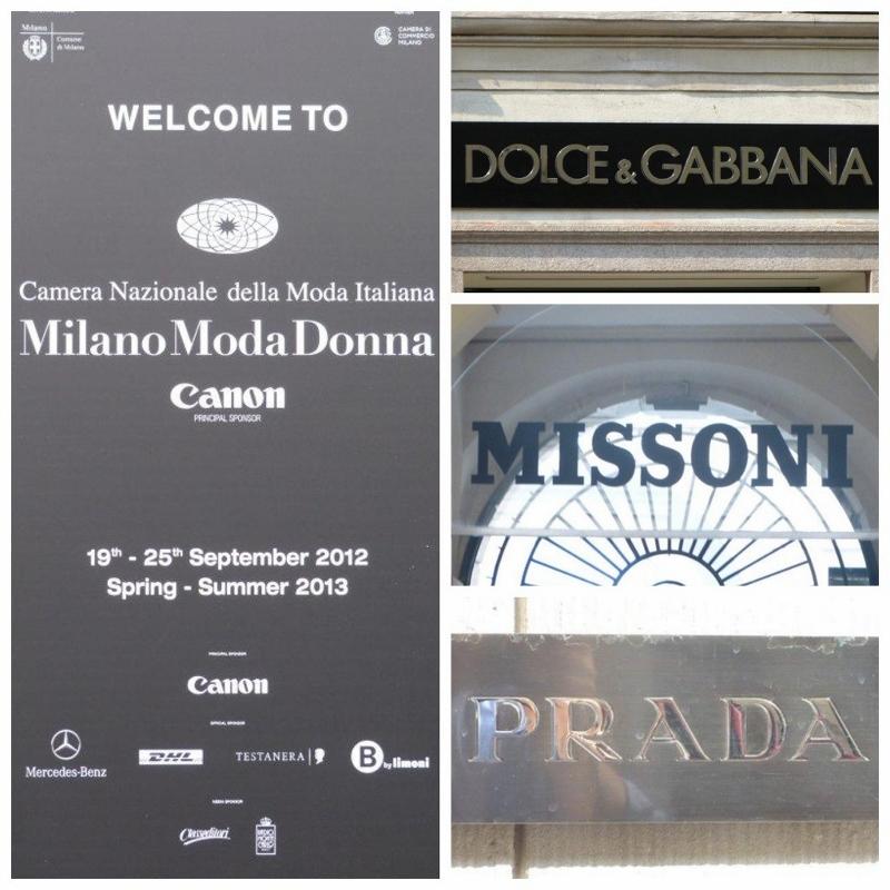 Milano Fashion - Dolce&Gabanna, Missoni, Prada