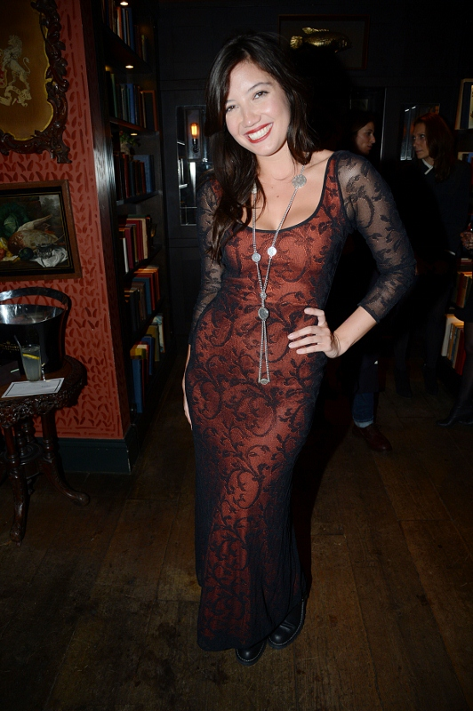Daisy Lowe in London (Tommy Hilfiger Tailored Collection)