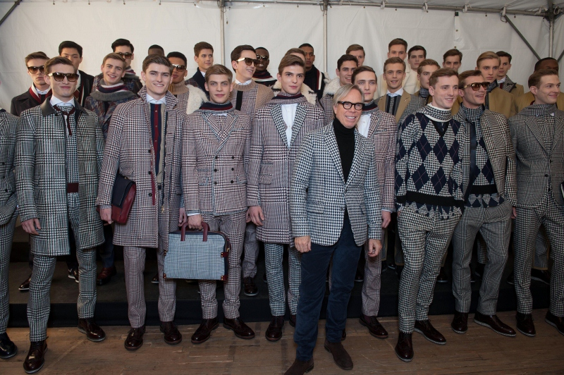 Tommy Hilfiger Men Fall/Winter 2013/2014 - Fashion Week in New York City