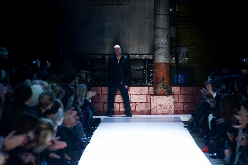 Diesel Black Gold Fall/Winter 2013/2014 von der Mercedes Benz Fashion Week in NYC