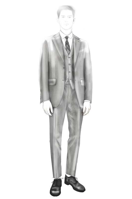 Sketch capsule collection - 50th Anniversary of the Ermenegildo Zegna Wool Awards