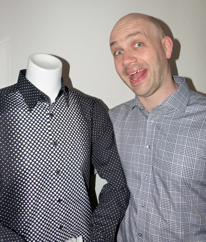 Black or white / Glencheck and dots - Hugo and me