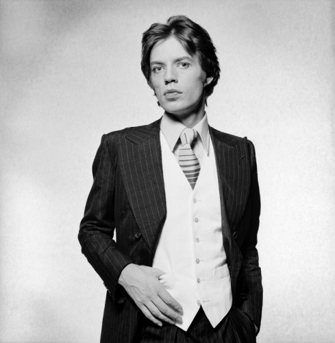 Mick Jagger Portrait 1976 - Copyright Terry O'Neill Iconic Images