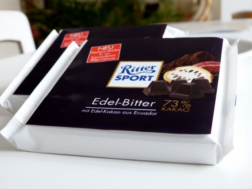 New Ritter Sport fine extra dark chocolate