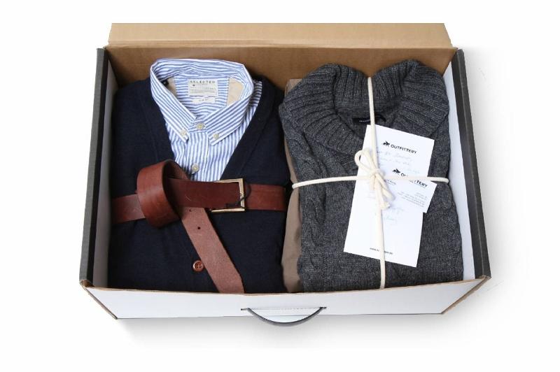 Outfittery - Kofferbox von oben