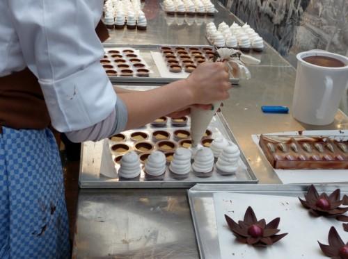 CHOCOlinos auf der ChocolART 2013