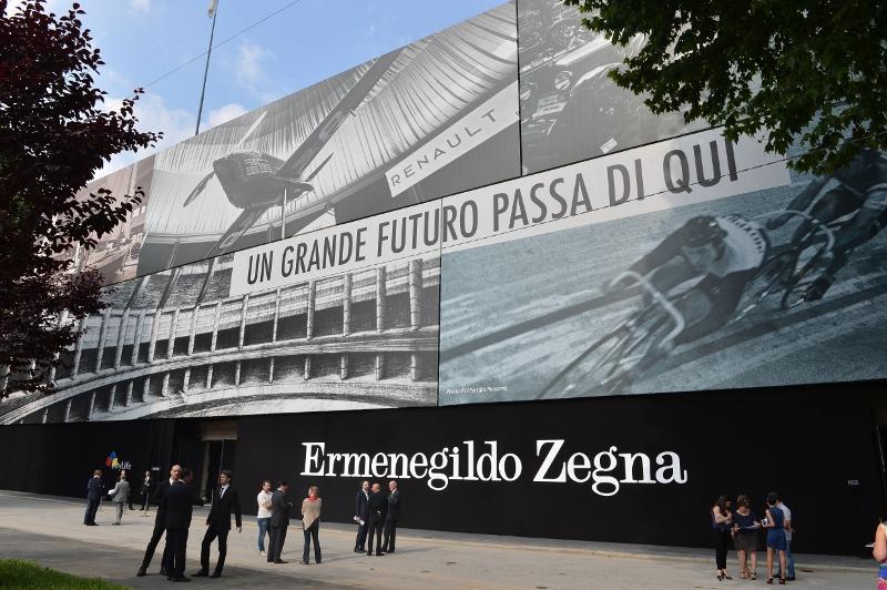 Location Ermengildo Zegna SS14 in Milan