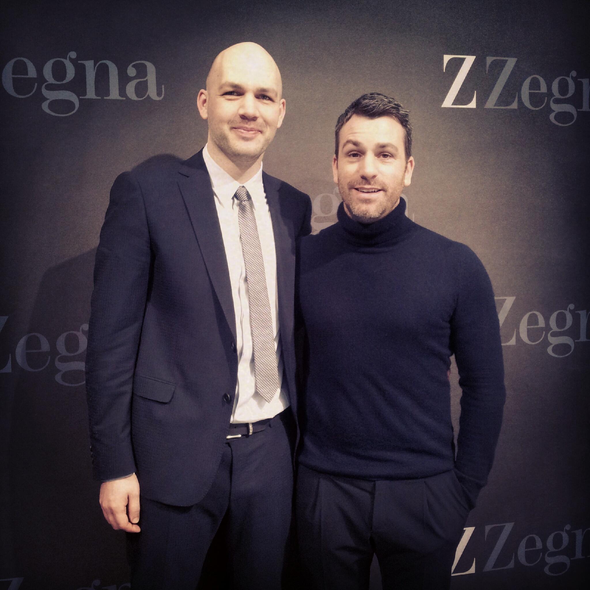 Paul Surridge and Heiko Kunkel - Z Zegna google+ Hangout