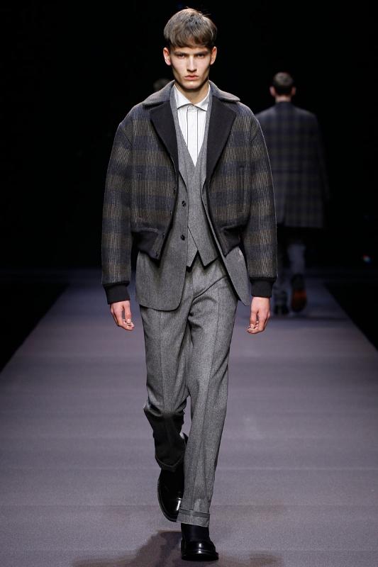 Ermenegildo Zegna Couture Fall/Winter Collection 2014/15 by Stefano Pilati