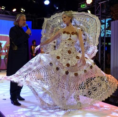 Lambertz Monday Night 'Goddesses & Divas' 2014 - Eveline Hall and Dr. Hermann Bühlbecker