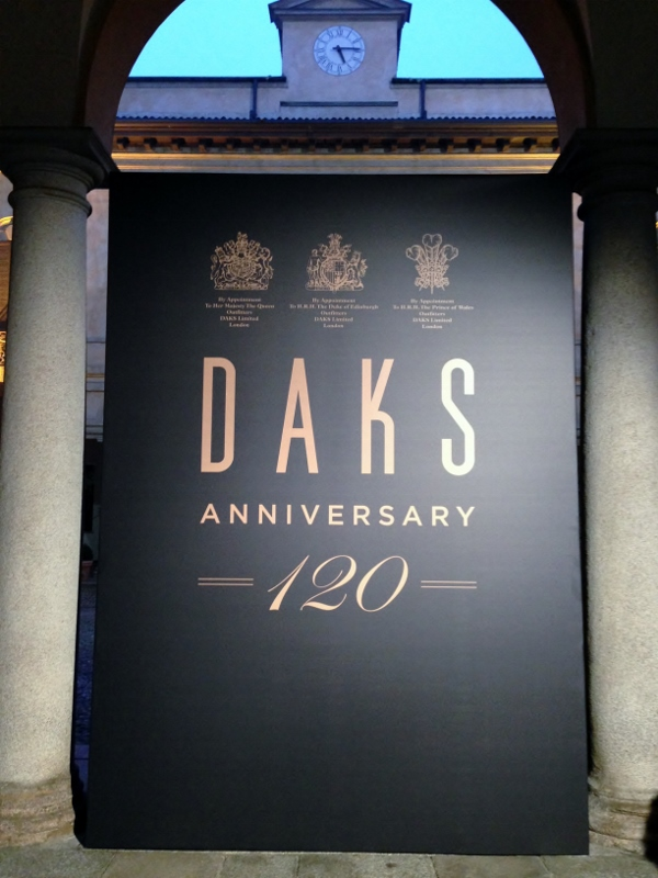 Milan Fashion Week - DAKS Fall/Winter 2014/15 - 120th Anniversary