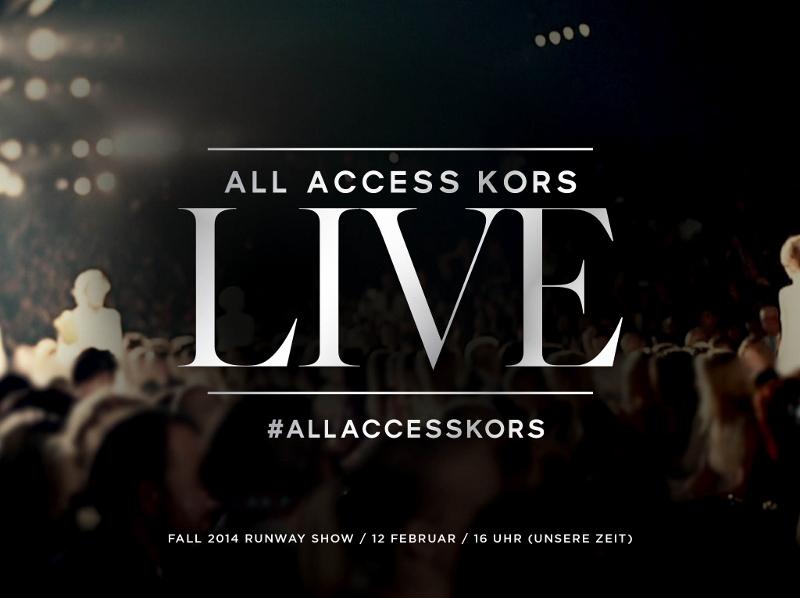 Michael Kors Livestream - Teaser