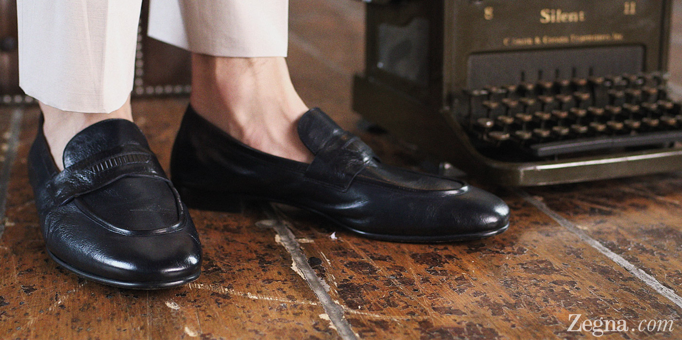 Ermenegildo Zegna Style-Guide Spring/Summer 2014 Video-tutorial Men-Loafers