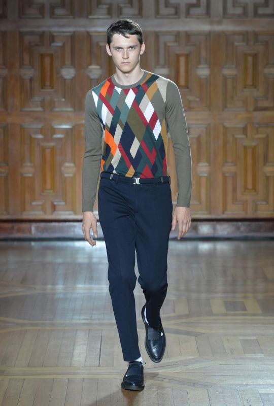 Pringle of Scotland Spring/Summer 2015 - London Collections: Men - LFW