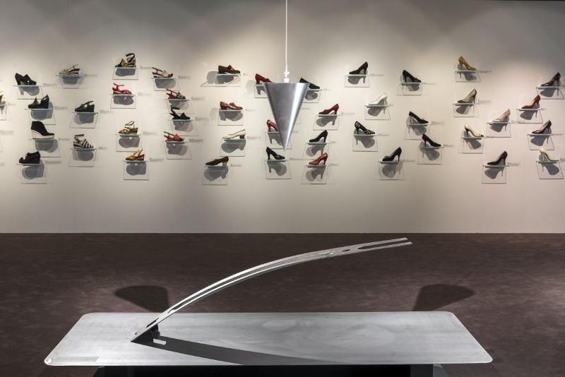 Salvatore Ferragamo exhibition 'EQUILIBRIUM' in the 'Museo Ferragamo' ©Guglielmo de' Micheli