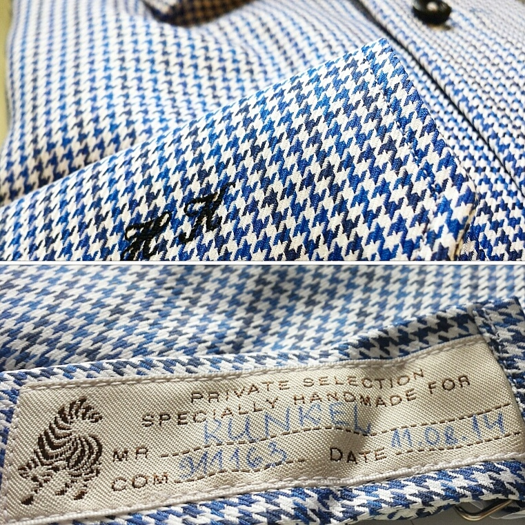 Jacques Britt handmade shirt