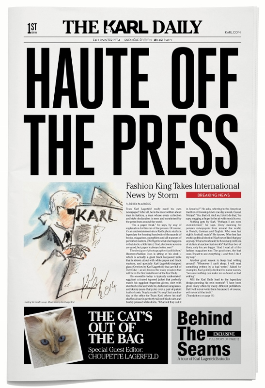 Karl Lagerfeld - KARL DAILY - Cover