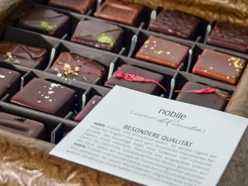 nobile-cioccolato Pralines