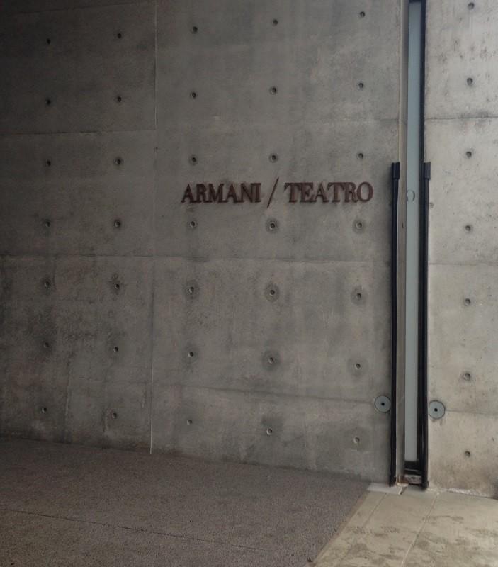 Armani Teatro in Milan