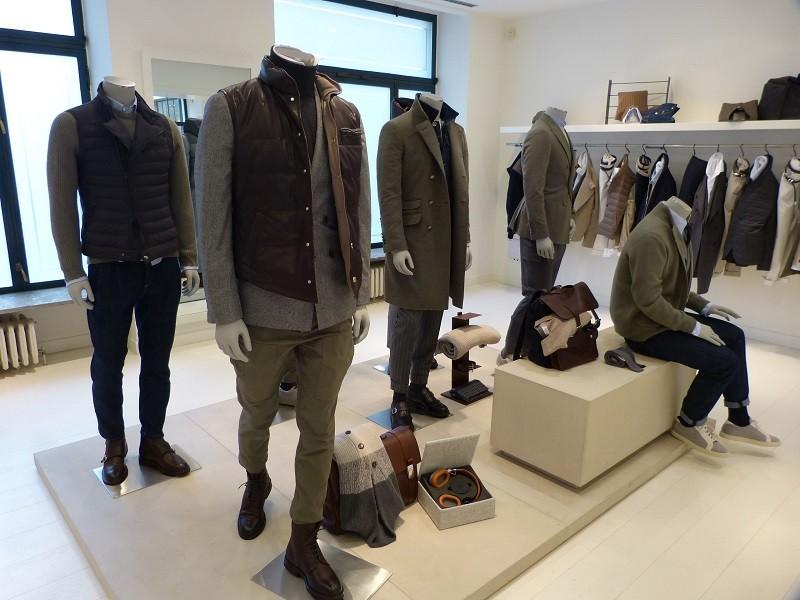 Brunello Cucinelli Fall/Winter 2015/16 – Milano Moda Uomo - Showroom