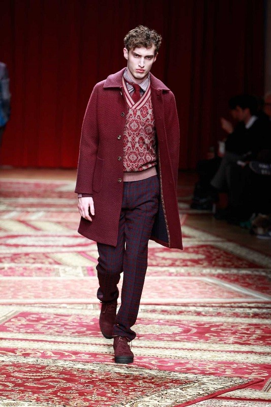 Missoni Fall/Winter 2015/16 – Milano Moda Uomo