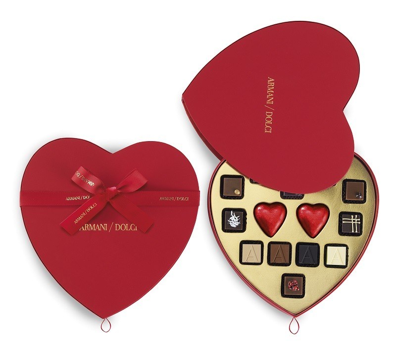 Armani Dolci Valentine's Day 2015 - 14pcs_heart shaped gift box