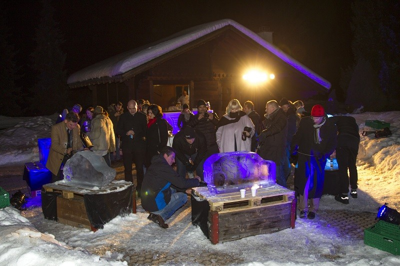 Cadillac Winterdrive Experience in Gstaad – Picture by Thorsten Weigl