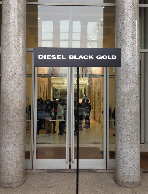 Diesel Black Gold Fall/Winter 2015/16 – Milano Moda Uomo - Entrance