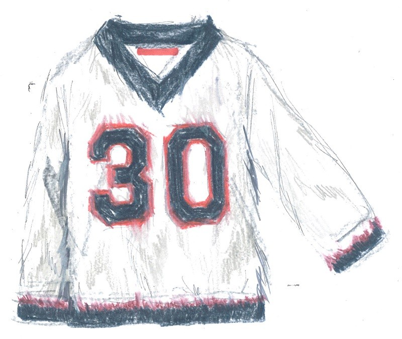 Tommy Hilfiger 30th Anniversary Sweater Oyster Grey Sketch
