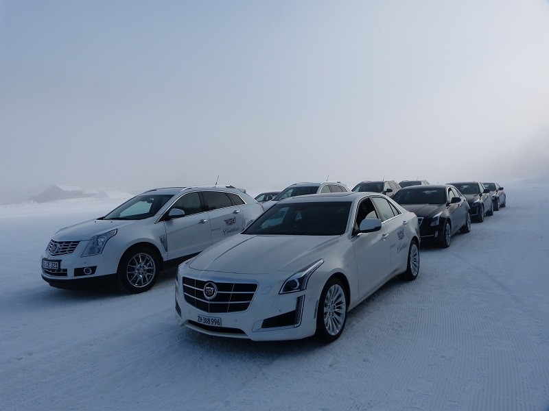 Welcome to the Cadillac Winterdrive Experience in Gstaad