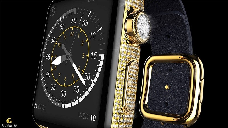 Goldgenie - Apple Watch Diamond Ecstasy