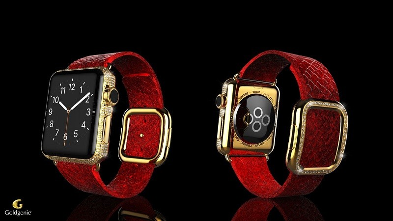 Goldgenie - The Apple Watch Brilliance