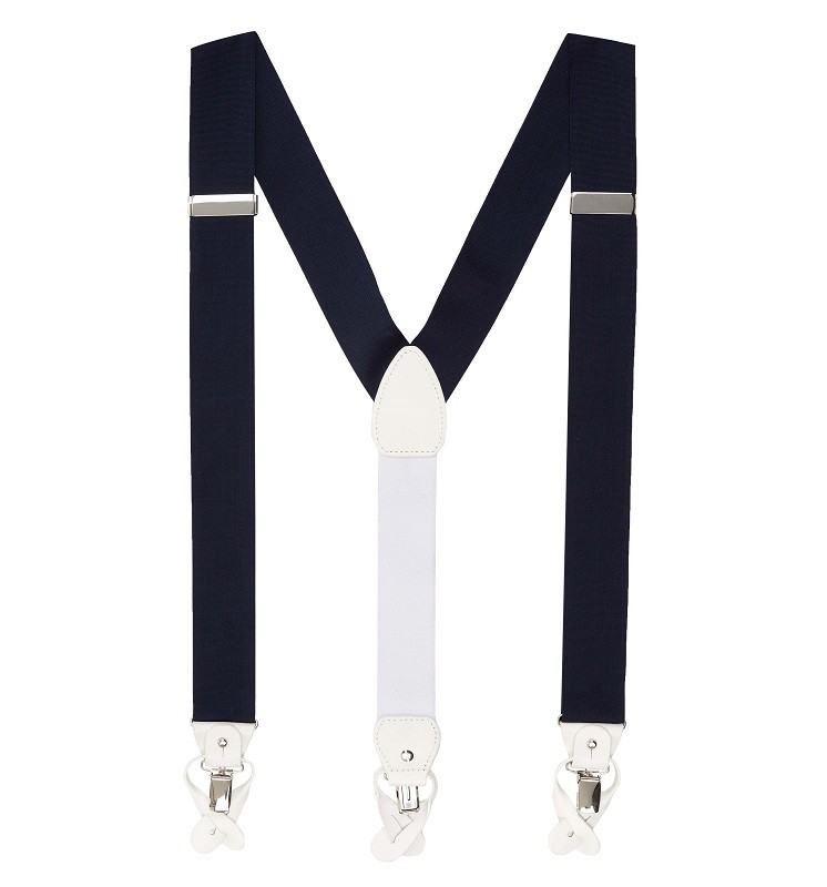 Hackett London Navy Braces - Spring/Summer 2015/16