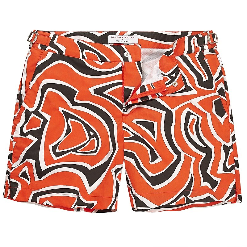 Orlebar Brown + Emilio Pucci Beachwear Collection