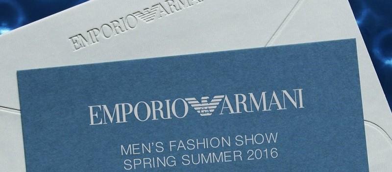 Emporio Armani Livestream