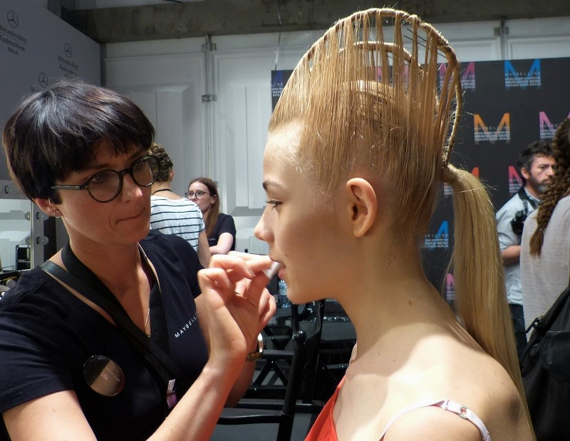 Irene Luft Spring/Summer 2016 – Mercedes Benz Fashion Week - Backstage