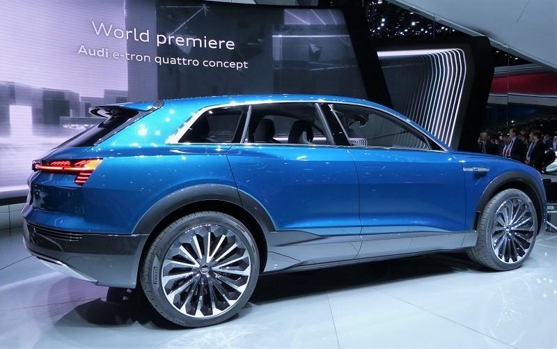 Audi E-tron Quattro Concept - IAA2015