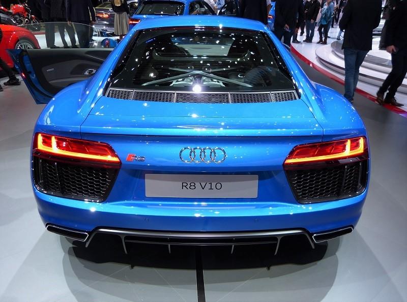Audi R8 V10 - back - IAA2015